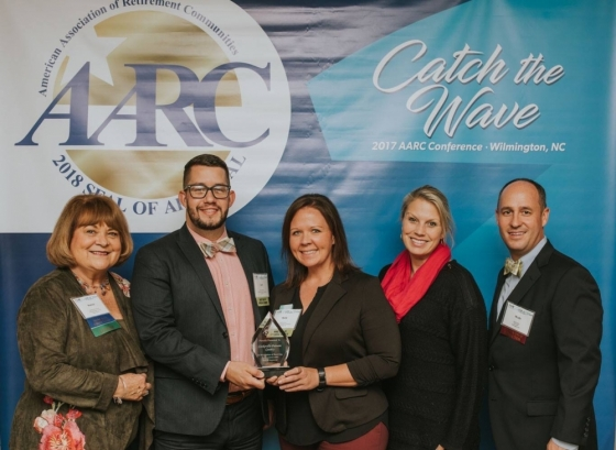 aarc - seal of approval - retire - visit cookeville - tn
